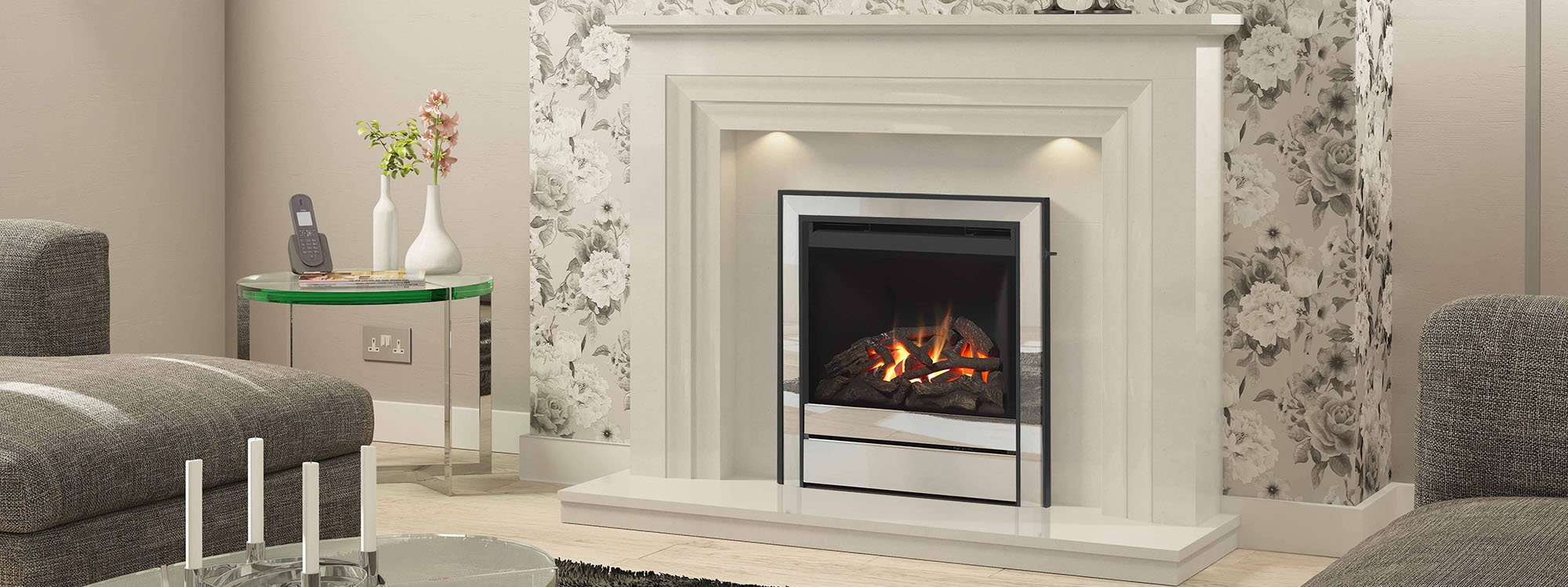 Martin James Fireplaces Nottingham | Gas & Electric Fires